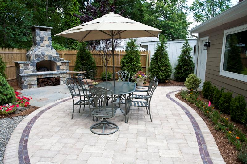 Patio, Outdoor Fireplace & Fire Pit, Planting Enhancements