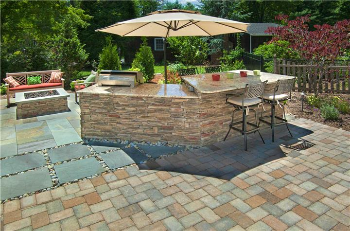 Patio, Outdoor Kitchen, Outdoor Fireplace & Fire Pit, Planting Enhancements