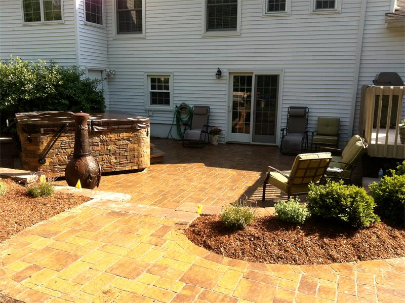 Patio, Retaining Wall, Steps, Walkway, Outdoor Fireplace & Fire Pit