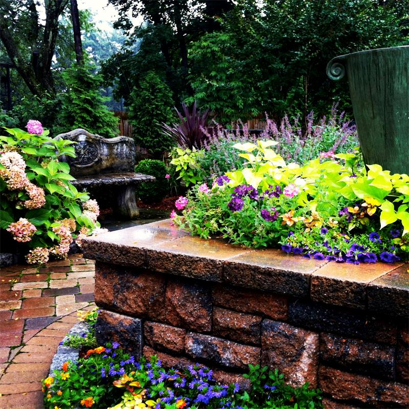 Planting Enhancements, Water Feature