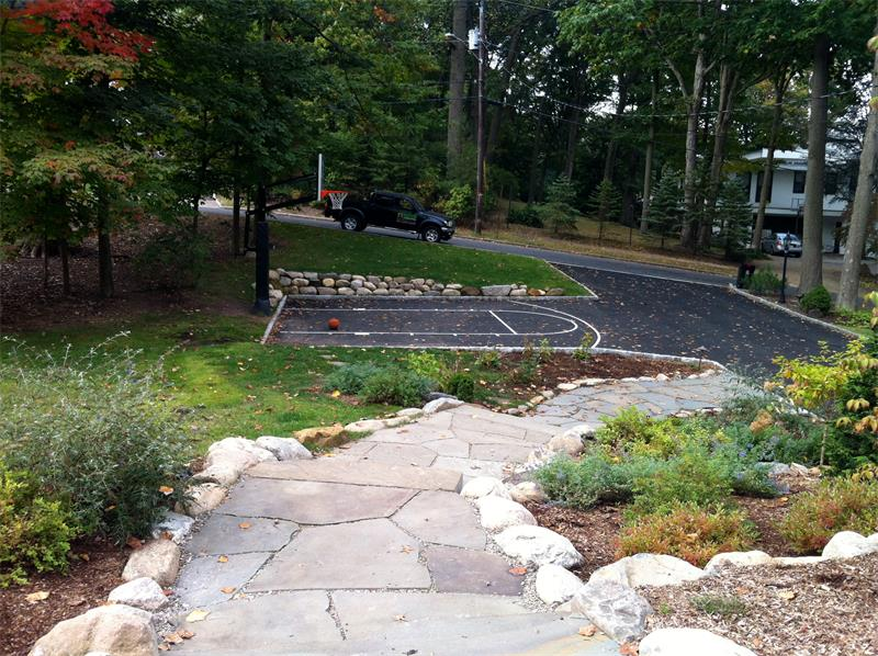 Driveway, Retaining Wall, Steps, Walkway, Planting Enhancements