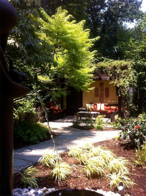 Retaining Wall, Steps, Walkway, Planting Enhancements