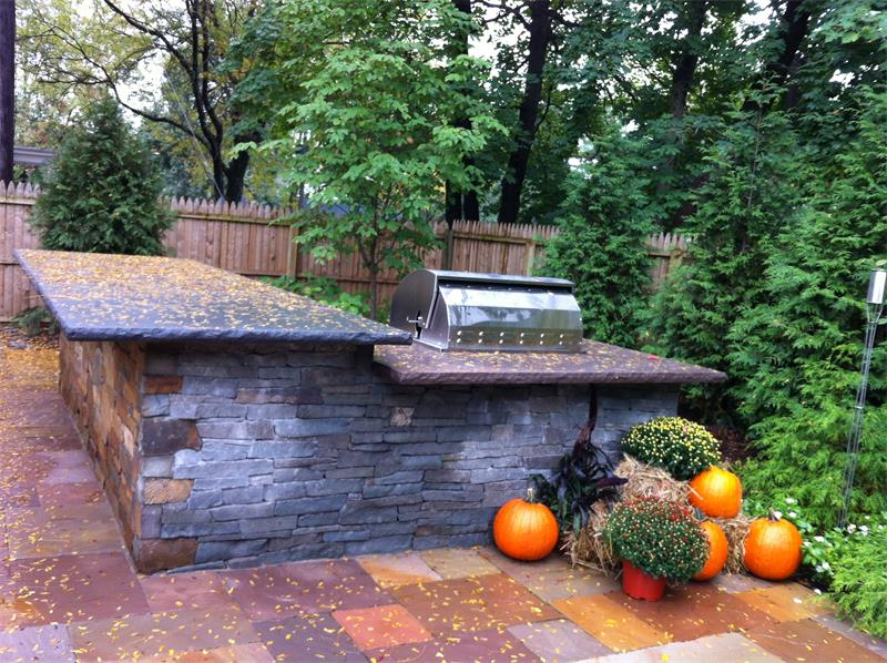 Patio, Outdoor Kitchen, Planting Enhancements