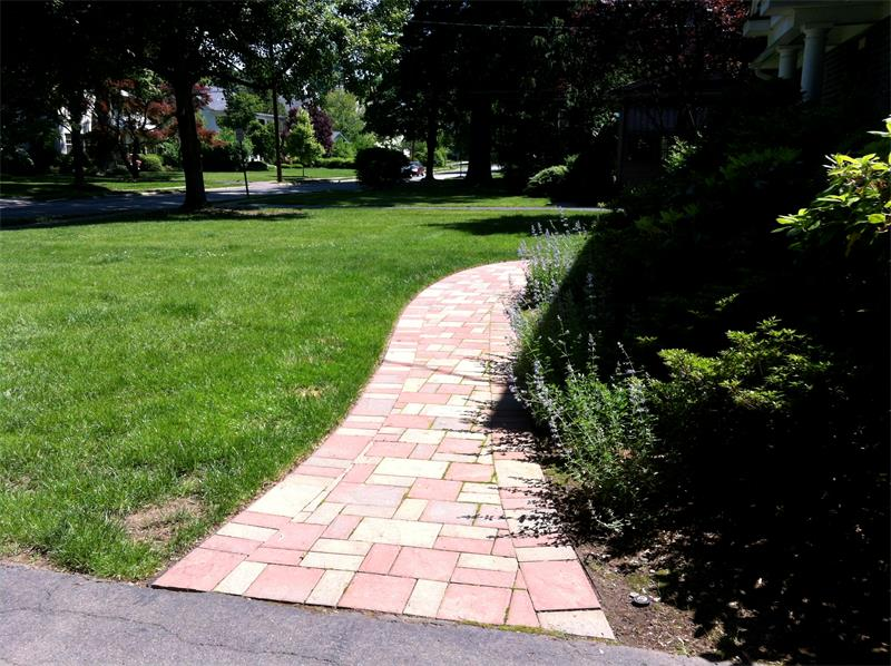Retaining Wall, Steps, Walkway