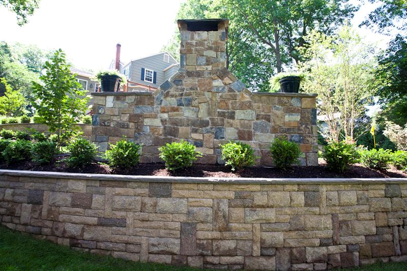 Retaining Wall, Steps, Walkway, Outdoor Fireplace & Fire Pit, Commercial and Residential Maintenance