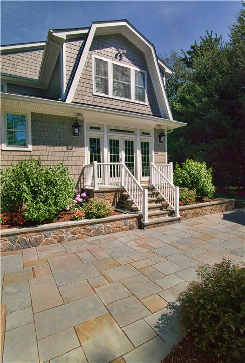 Patio, Retaining Wall, Steps, Walkway, Planting Enhancements